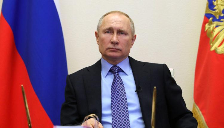 Путин выступит с очередным телеобращением к россиянам