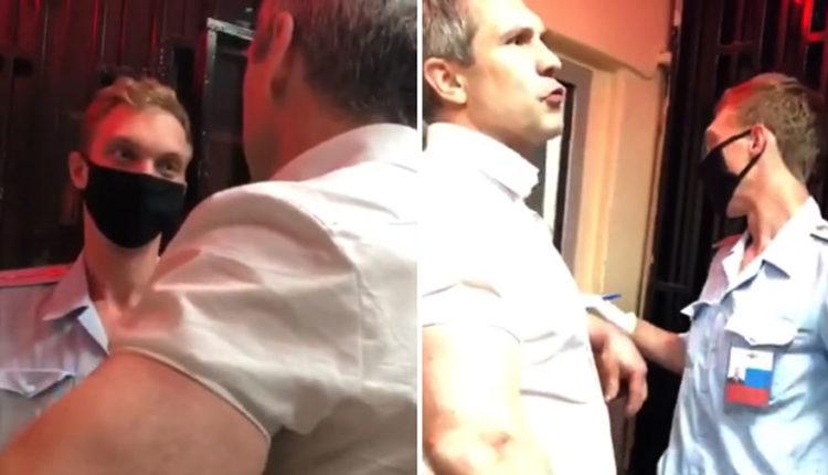 ФСБ ищет полицейского, из-за которого видео с пьяным дебоширом из Генпрокуратуры попало в Сеть
