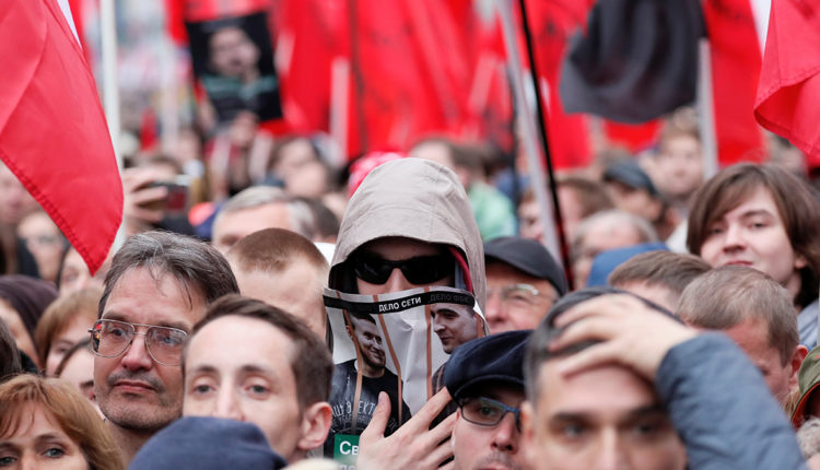 Оппозиционеры пожаловались в ЕСПЧ на массовое распознавание лиц на митинге в Москве
