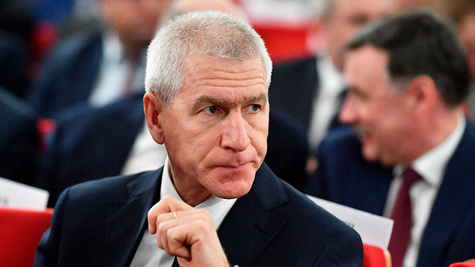Министр спорта заявил, что любые деньги в России «фактически являются государственными»