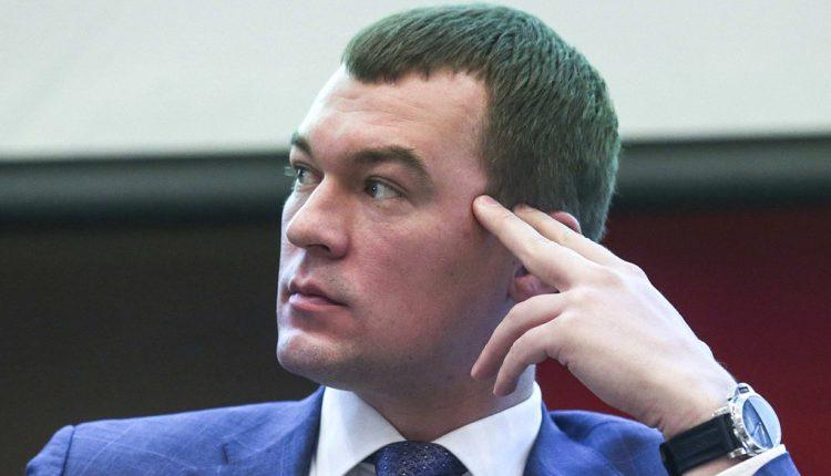 Новый глава Хабаровского края категорически отказался общаться с протестующими жителями