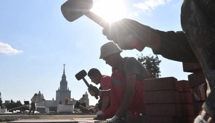Московские власти вновь начали тратить десятки миллиардов на благоустройство и дороги