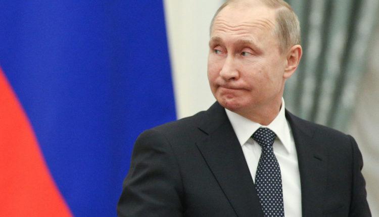 Рейтинг доверия Путина пробил очередное дно
