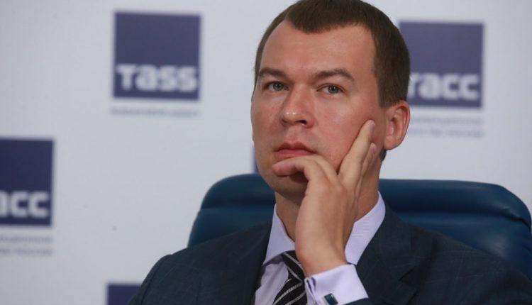 Врио главы Хабаровского края предложил вернуть полеты бизнес-классом для чиновников, запрещенные Фургалом