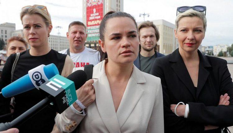 Светлана Тихановская заявила о готовности стать национальным лидером Белоруссии. ВИДЕО