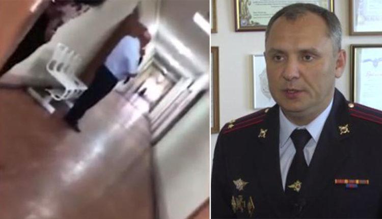 На начальника отдела полиции, стрелявшего в подчиненных из винтовки, возбудили уголовное дело