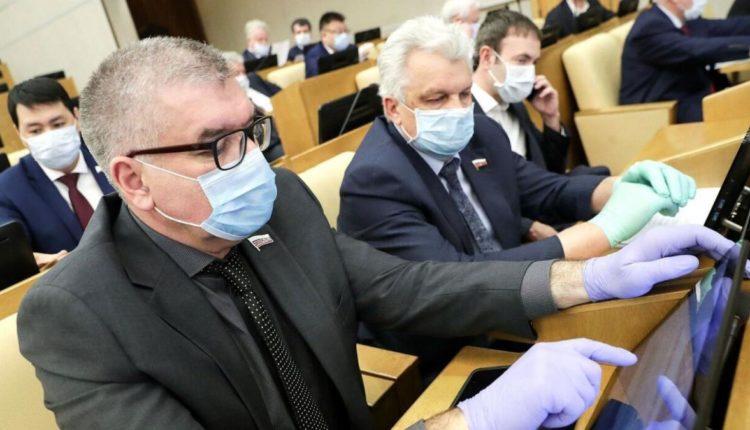 Восьмерых депутатов Госдумы увезли в больницу с COVID-19 за прошедшую неделю