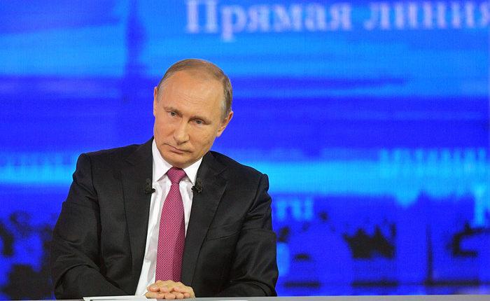 Песков объявил: «Прямая линия» с Путиным в 2020 году не состоится