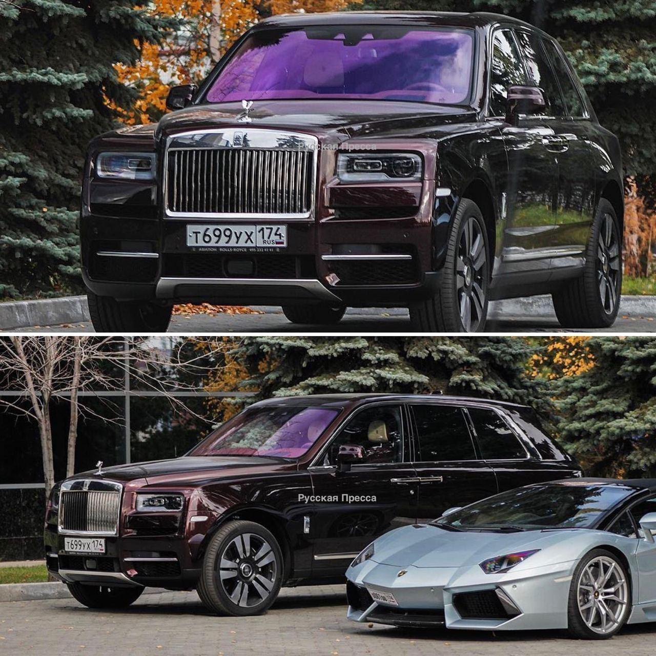 Rolls Royce Cullinan олигарха Александра Аристова