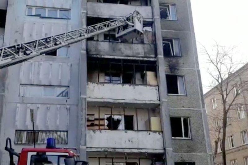 Взрыв кислорода в Челябинске