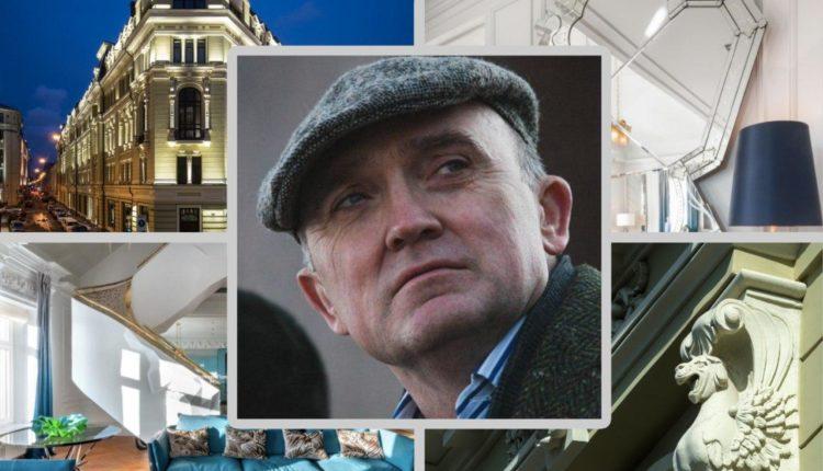 Беглый экс-губернатор Дубровский тайно продаёт квартиру за 900 млн рублей ($11 млн). Эксклюзивные ФОТО