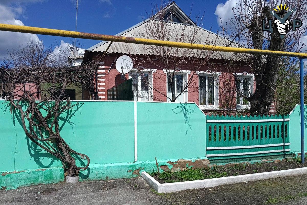 Дом матери генерала Ивана Ткачёва в Белгородской области