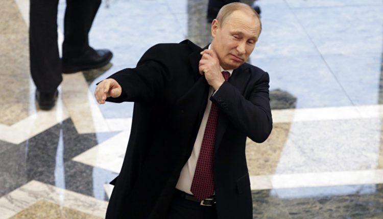 В Кремле назвали «чушью» информацию о болезни Паркинсона у Путина
