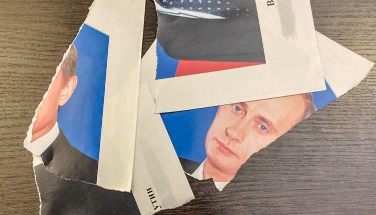 В Кремле предложили конфликтующим депутатам и чиновникам повесить портреты Путина и Пушкина рядом