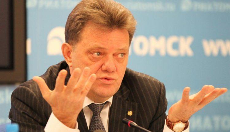 «Единая Россия» временно приостановила членство в партии арестованного мэра Томска