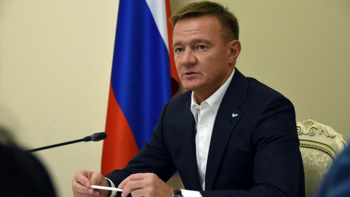 Губернатор курской области Роман Старовойт