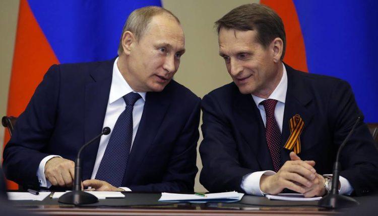 Кремль: Путина «не заинтересовало» расследование о связях главы СВР Нарышкина с азербайджанским миллиардером