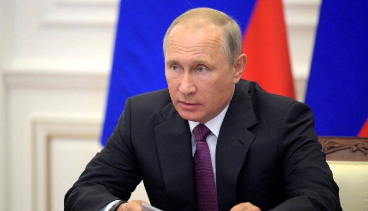 Владимиру Путину запретили посещать Олимпийские игры в течение двух лет