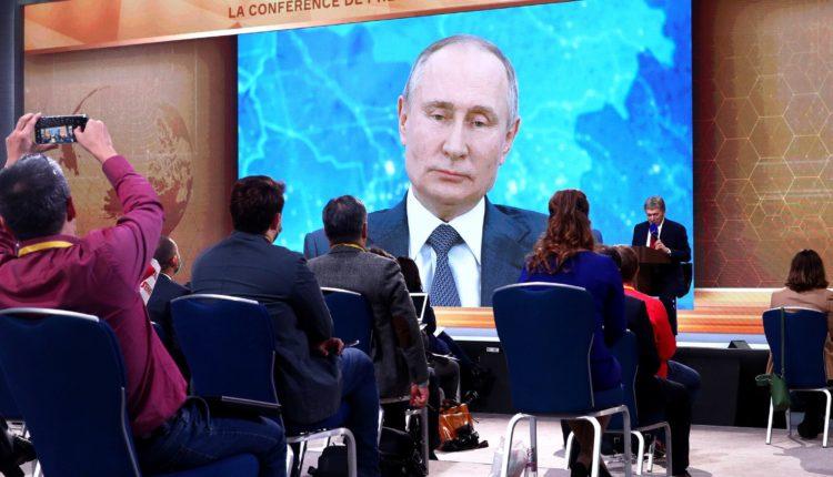 Путин прокомментировал расследование о причастности ФСБ к отравлению Навального