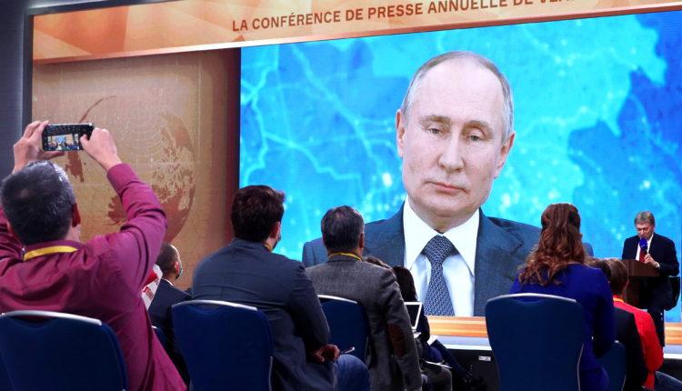 На пресс-конференцию Путина потратили более 66 млн бюджетных рублей. ДОКУМЕНТ