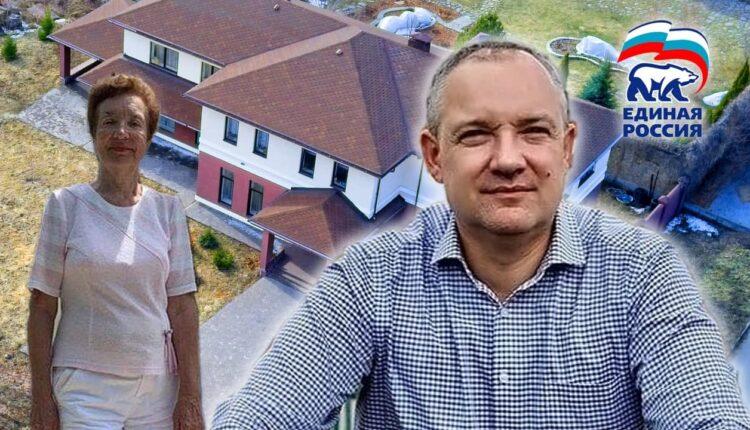 Единоросс Владимир Павлов, идущий в Госдуму, спрятал от народа 400-метровый коттедж. ВИДЕО