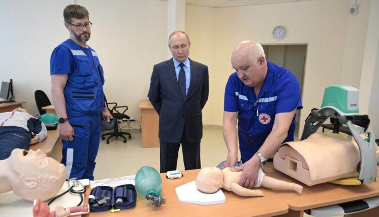 Профсоюз медиков поставил под сомнение правдивость слов реаниматолога, рассказавшего Путину о своей высокой зарплате