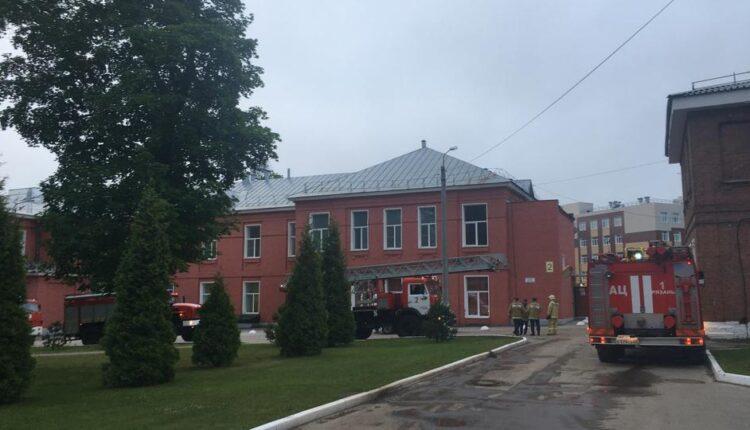 Пожар в реанимации рязанской больницы унес жизни троих человек